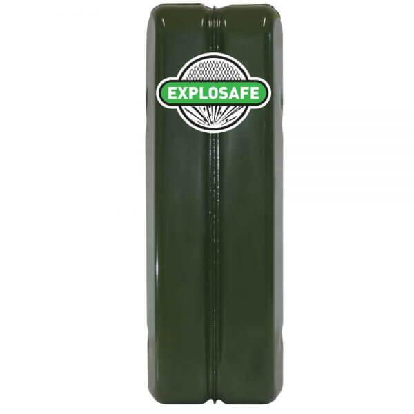 20L Green Explosafe Back