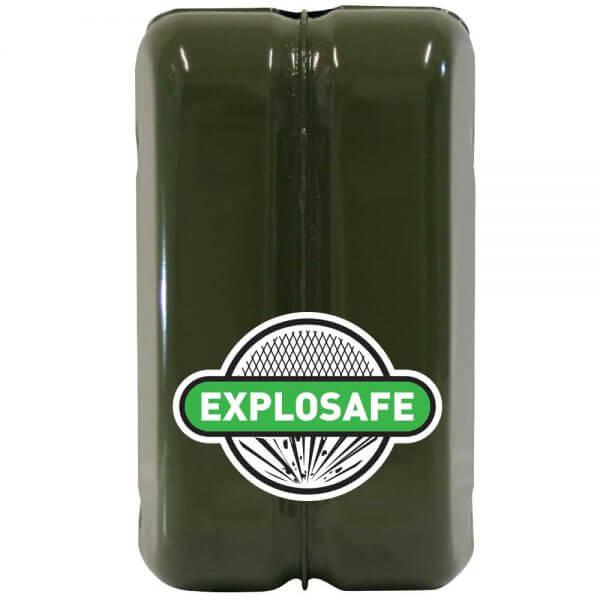 10L Green Explosafe Back