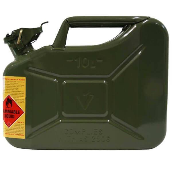 10L Green Explosafe side