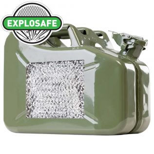10L Green Explosafe Mesh