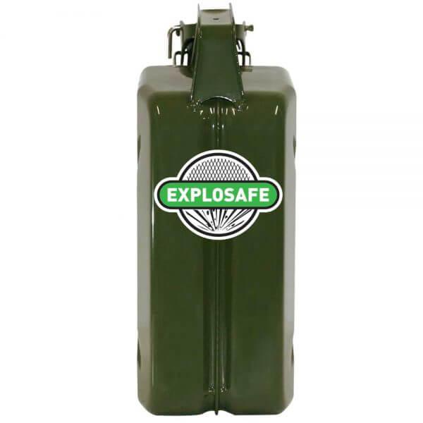 5L Green Explosafe Back