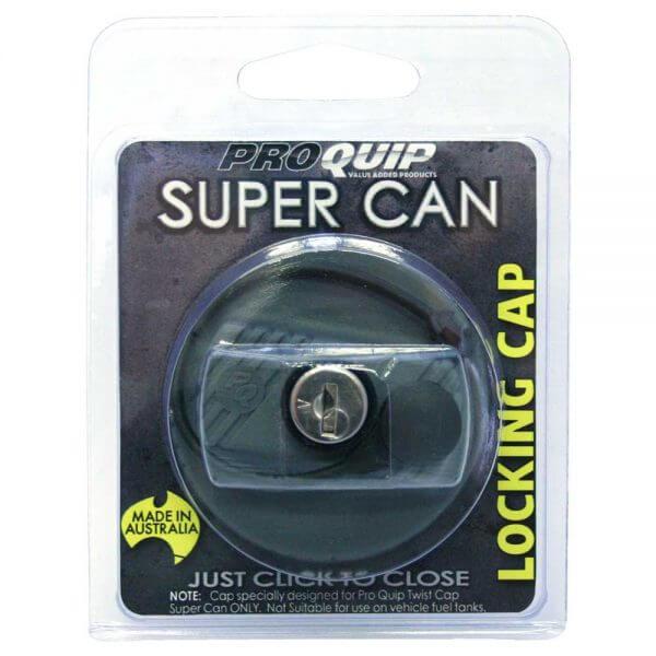Super Can Twist Cap Lockable