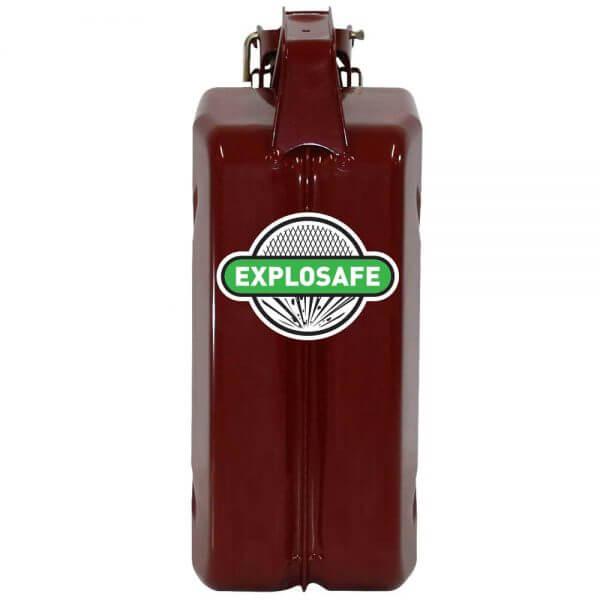 5L Red Explosafe Back