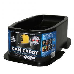 Can Caddy Fuel Can Transport Tray & Stabiliser Front