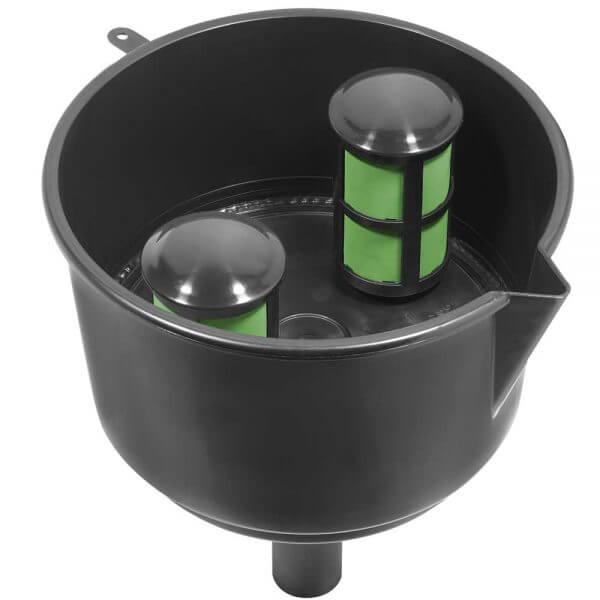 Black Conductive Fuel Filter Funnel