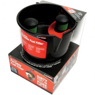 Black Conductive Fuel Filter Funnel Packaging