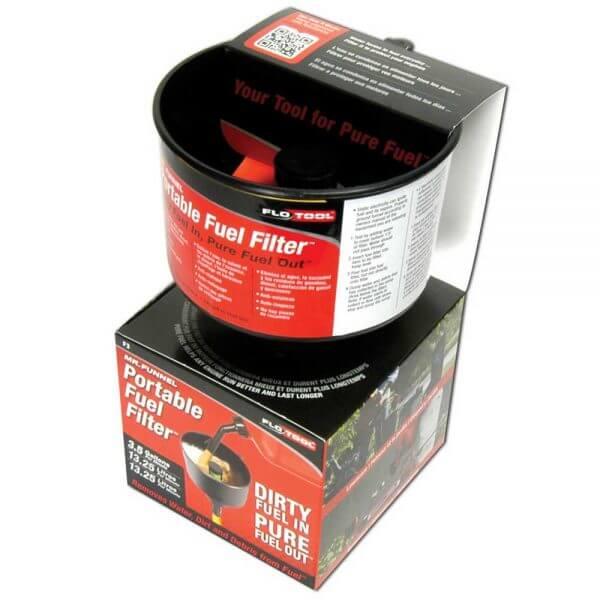 Mr Funnel Black Conductive Fuel Filter Funnel F3C Packaging