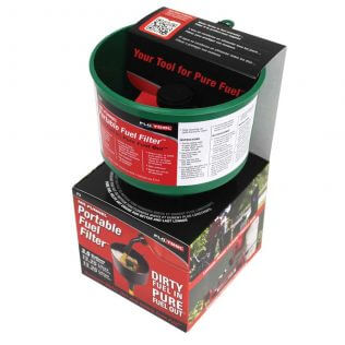 Green Non-Conductive Fuel Filter Funnel Packaging