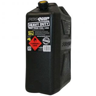 20L Heavy Duty Plastic Fuel Can Front