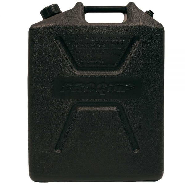 20L Heavy Duty Plastic Fuel Can Side