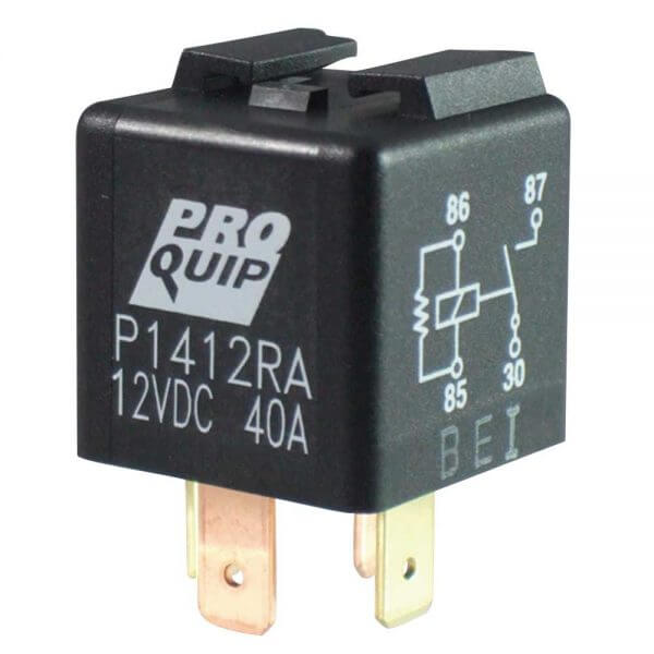 12V Mini American Pin Normally Open Relay