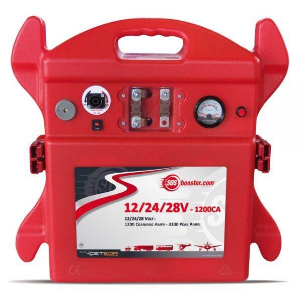 SOS Booster AVIATION Portable Unit 12/24/28V 1200CA
