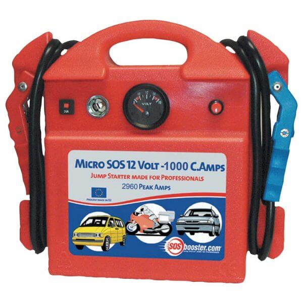 SOS Booster MICRO 12V 1000CA