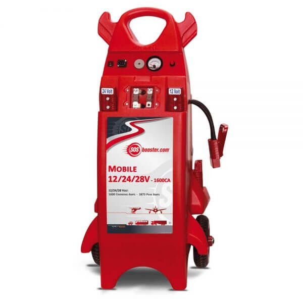 SOS Booster AVIATION Mobile Unit 12/24/28V 1600CA_960011