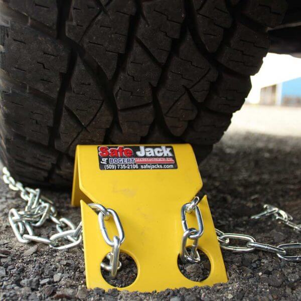 Safe Jack Wheel Chocks - Two Pairs