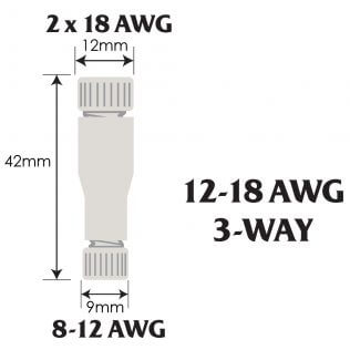 Posi-Lock 12-18 AWG 3-Way