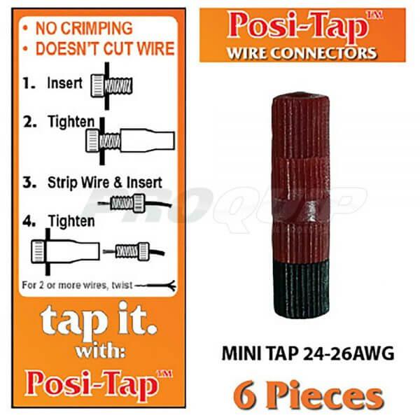 Posi-Tap Mini Taps 24-26 AWG