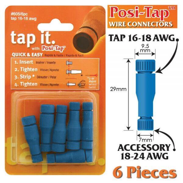 Posi-Tap Taps 16-18 AWG