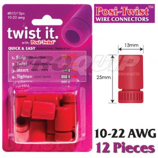 Posi-Twist 10-22 AWG Non In-Line Wire Connectors