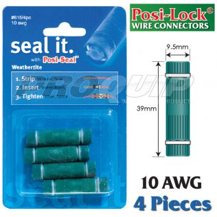 Posi-Seal 10 AWG Weatherite Wire Connectors With Internal Seal