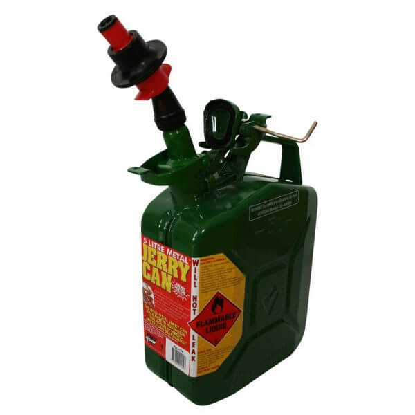 Metal Auto Shut Off Pourer - Drip Torch 65mm_12