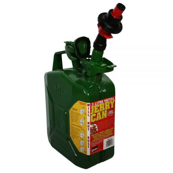 Metal Auto Shut Off Pourer - Drip Torch 65mm_13