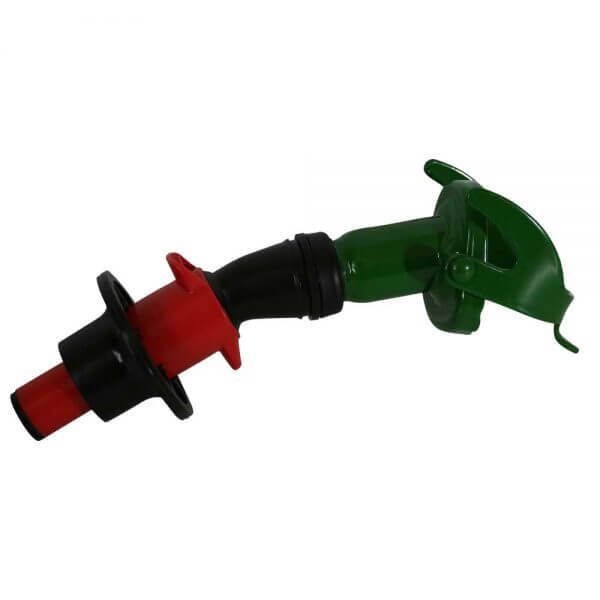 Metal Auto Shut Off Pourer - Drip Torch 65mm_3