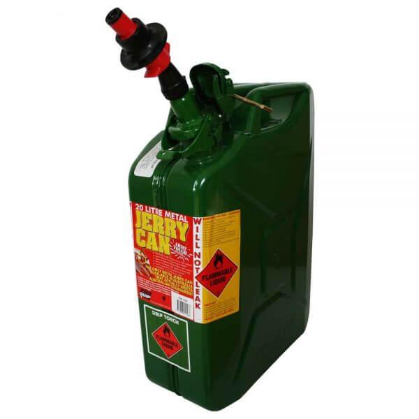 Metal Auto Shut Off Pourer - Drip Torch 65mm_4