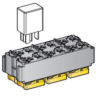 6 Way Micro Relay Module