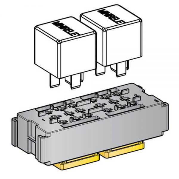 2 Way Mini Relay Module