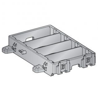 Modular Fuse-Relay Holder For 4 Modules