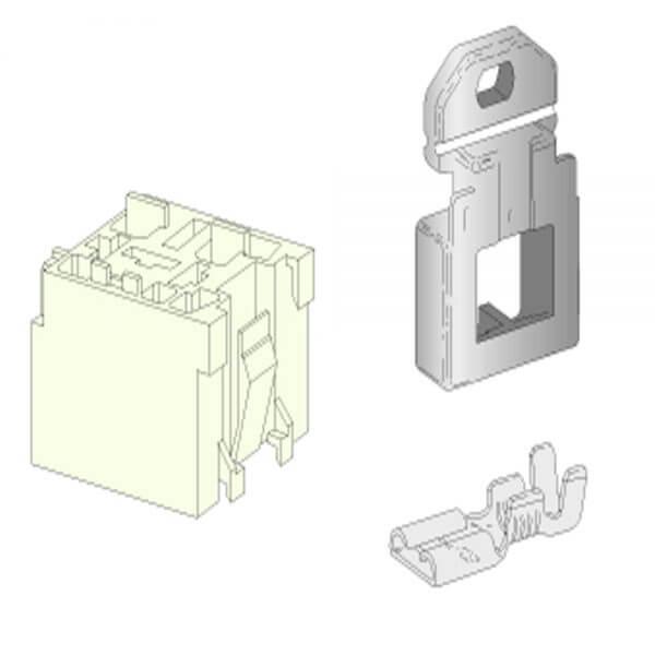 Mini Relay Holder 5 Pin Kit With Bracket