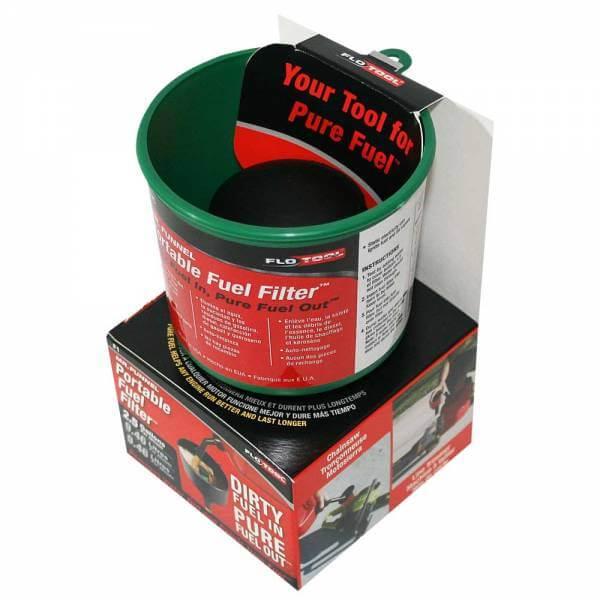 Green Non Conductive Fuel Filter Funnel_3